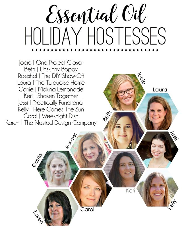 holiday hostess guide @diyshowoff