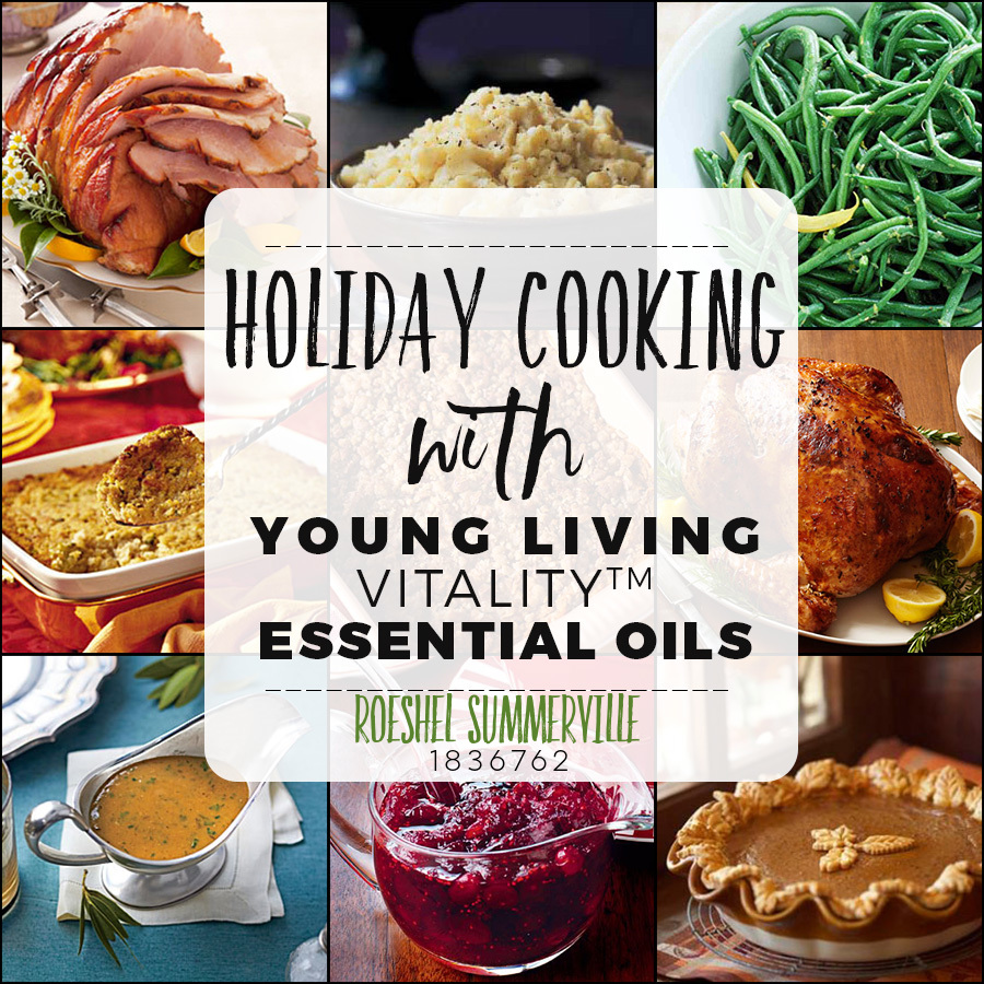 holiday cooking recipes with essential oils