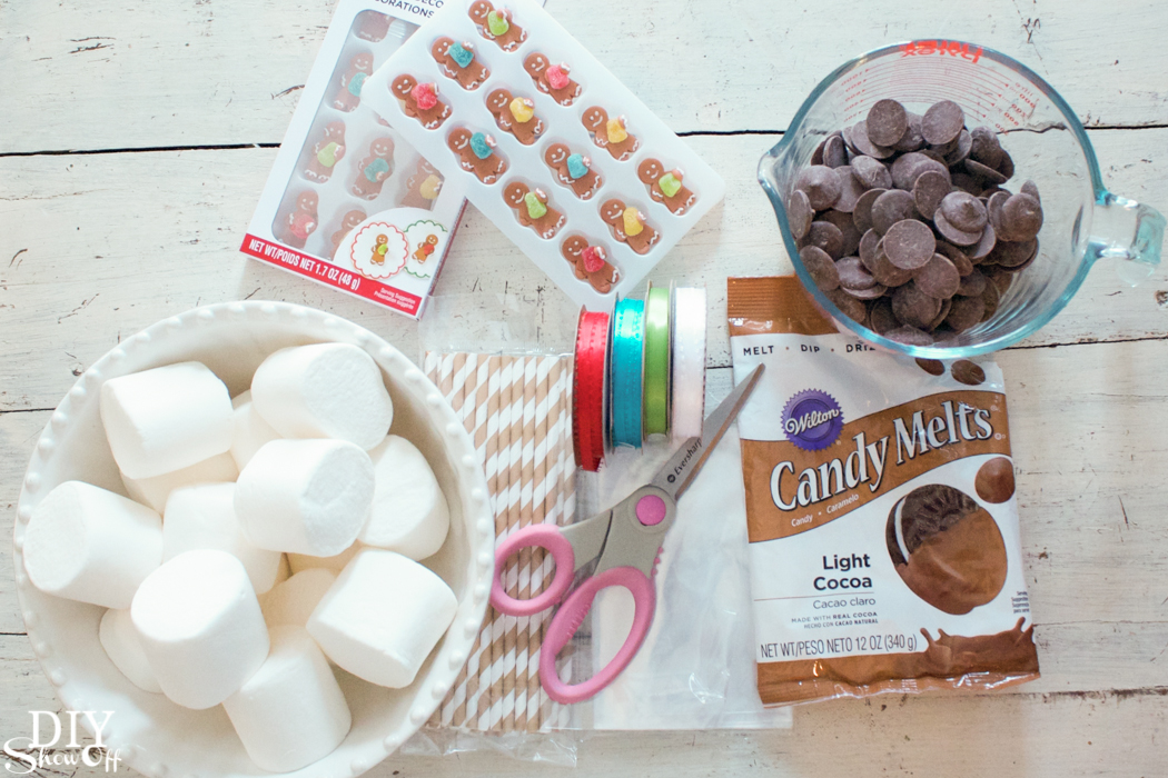 hand dipped marshmallow treats @diyshowoff #christmas