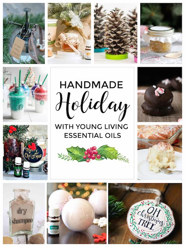 handmade holiday with young living essential oils @diyshowoff