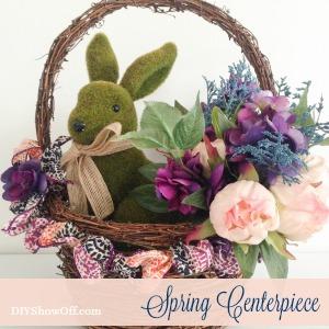 diyshowoff spring centerpiece tutorial
