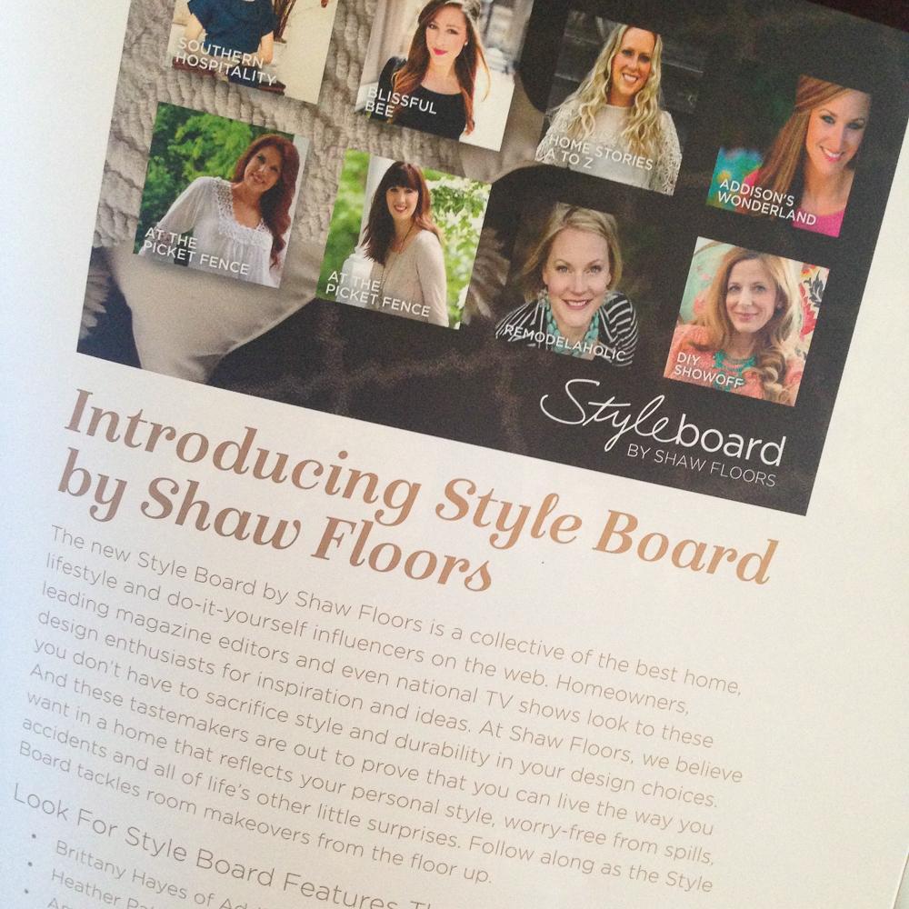 Shaw Floors Connect 2017 #shawstyleboard @diyshowoff
