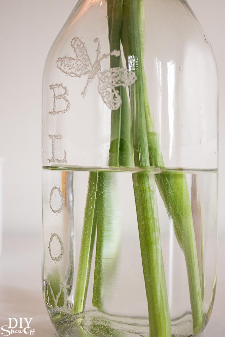DIY Dremel maker kit engraving glass @diyshowoff