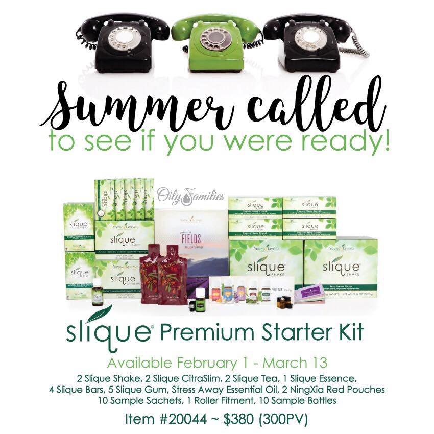 slique premium starter kit