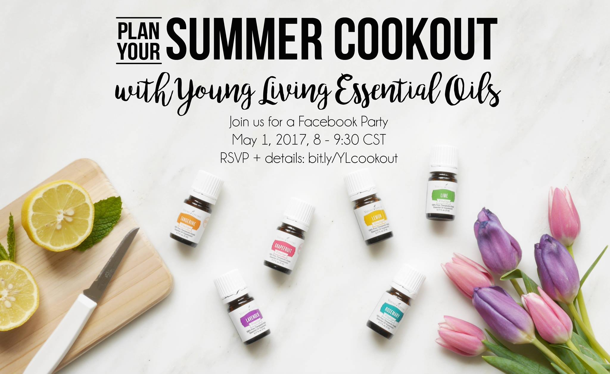 summer cookout with young living essential oils
