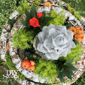 What a treasure! Check out this beautiful cast iron flower fountain in all of her chippy glory! @diyshowoff