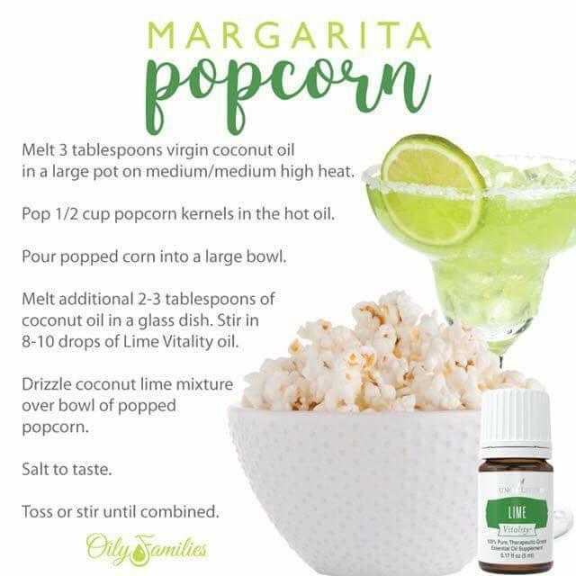 margarita popcorn recipe
