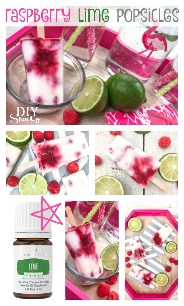 raspberry lime frozen yogurt