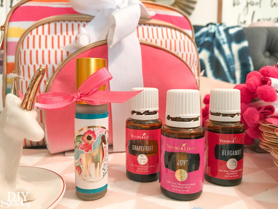 unicorn essential oils make and take
