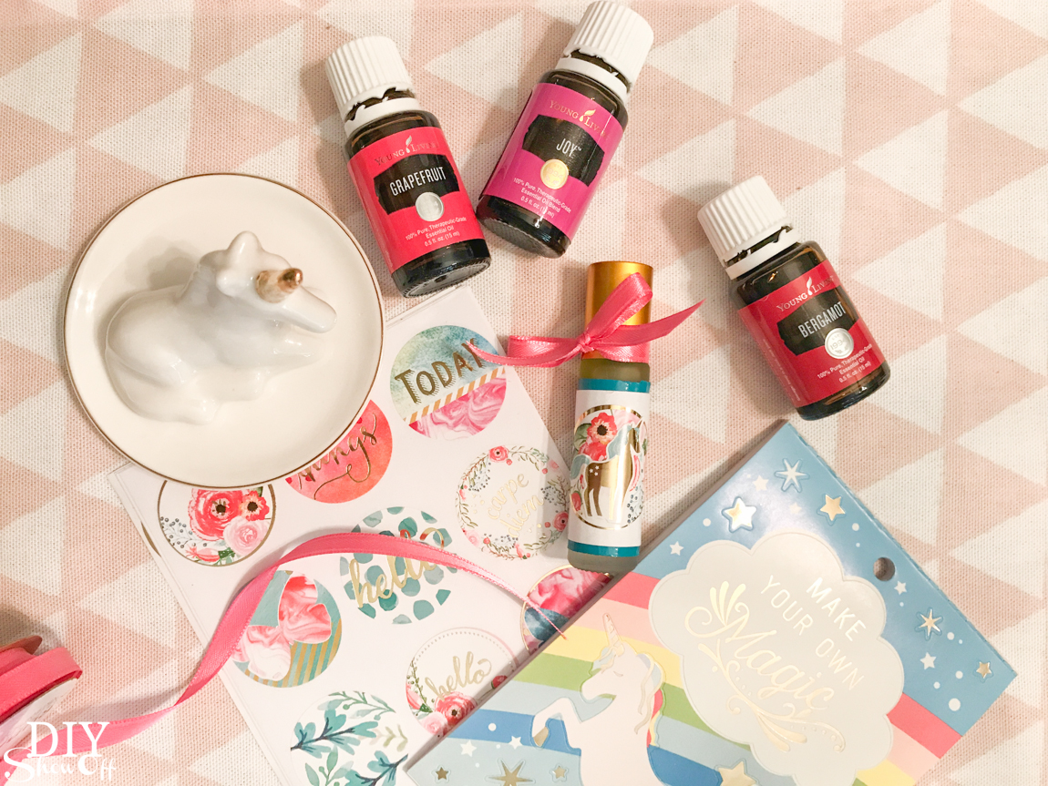 unicorn essential oils make and take