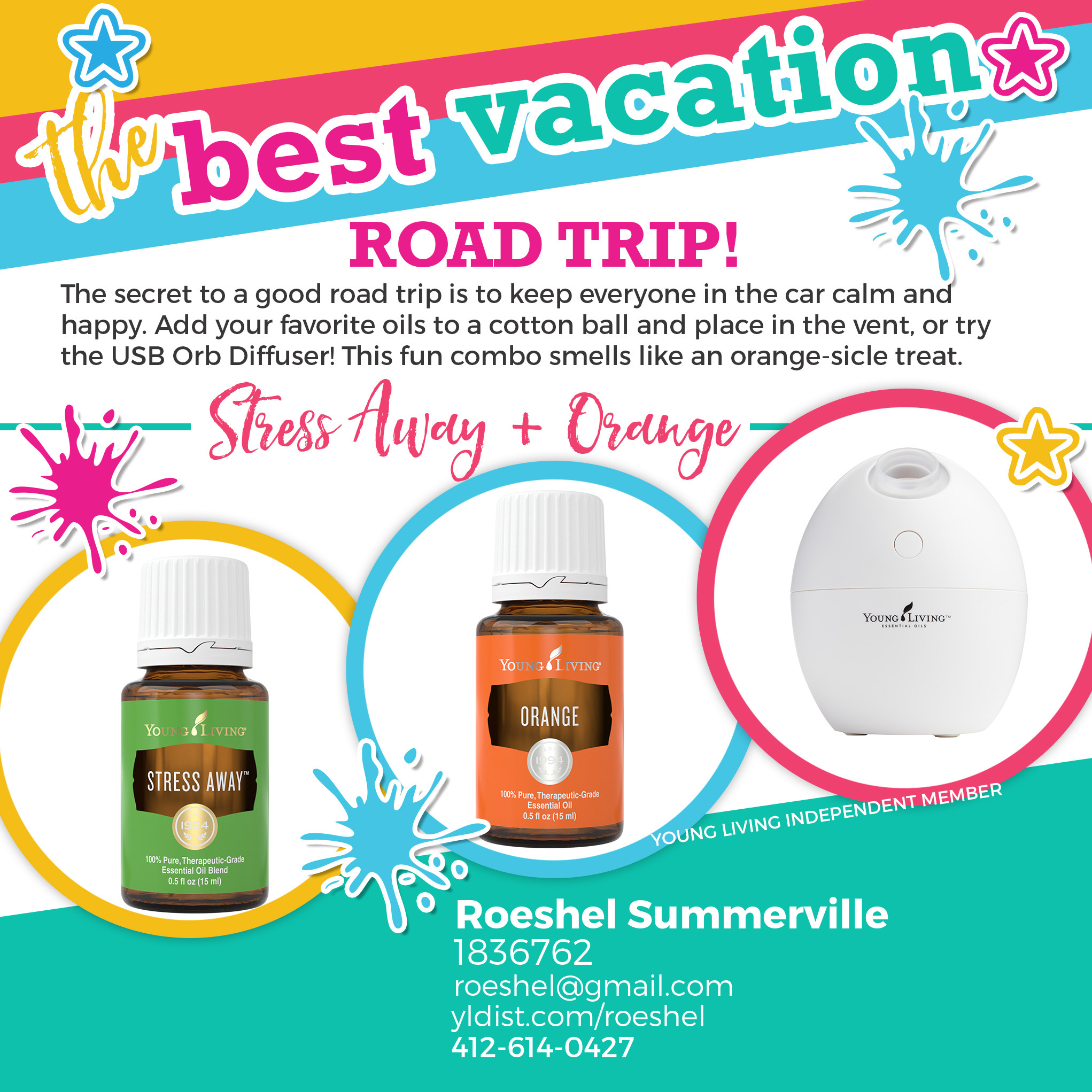 summer fun with essential oils @diyshowoff