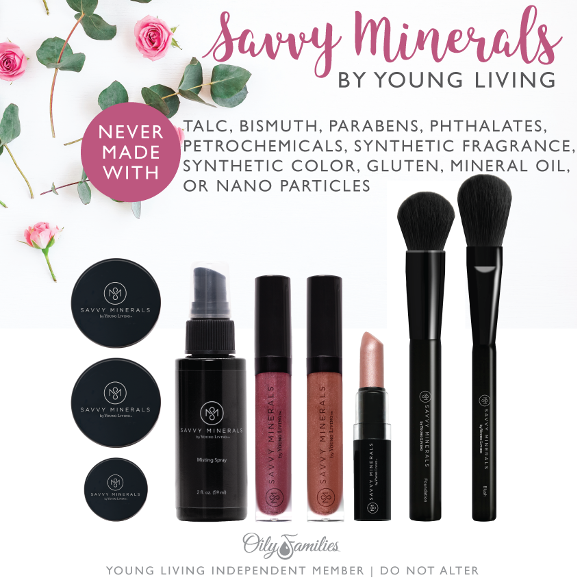 Savvy Minerals Makeup @diyshowoff