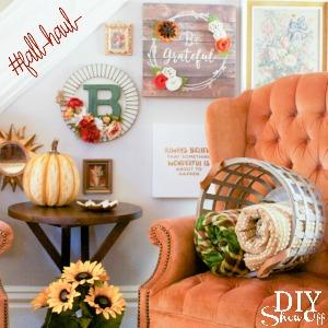 I love fall decorating! #fallhaul #madewithmichaels @diyshowoff