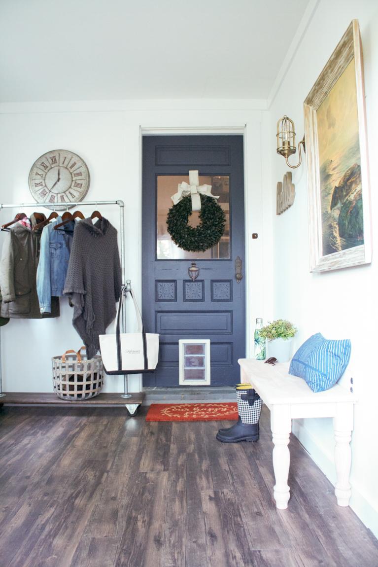 Shaw Floorte Classico Antico diyshowoff mudroom makeover