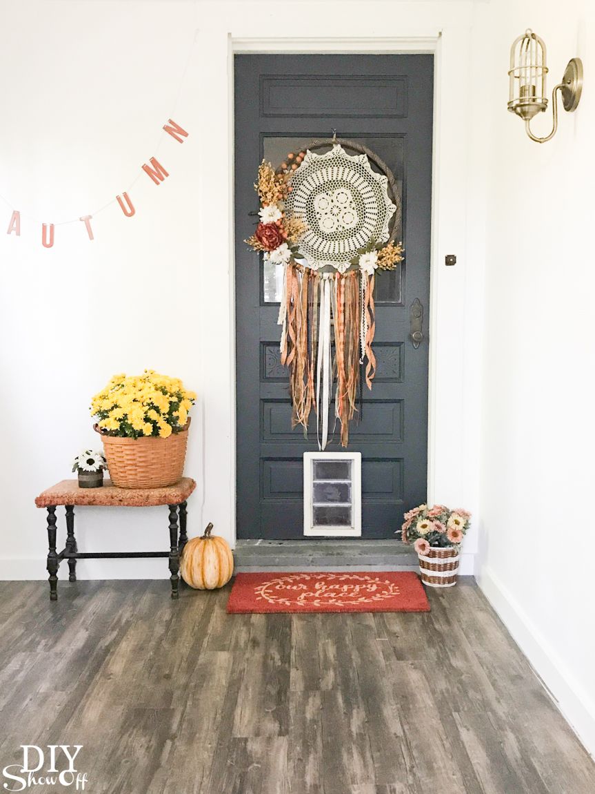 Fall Home Tour Shaw Floors diyshowoff