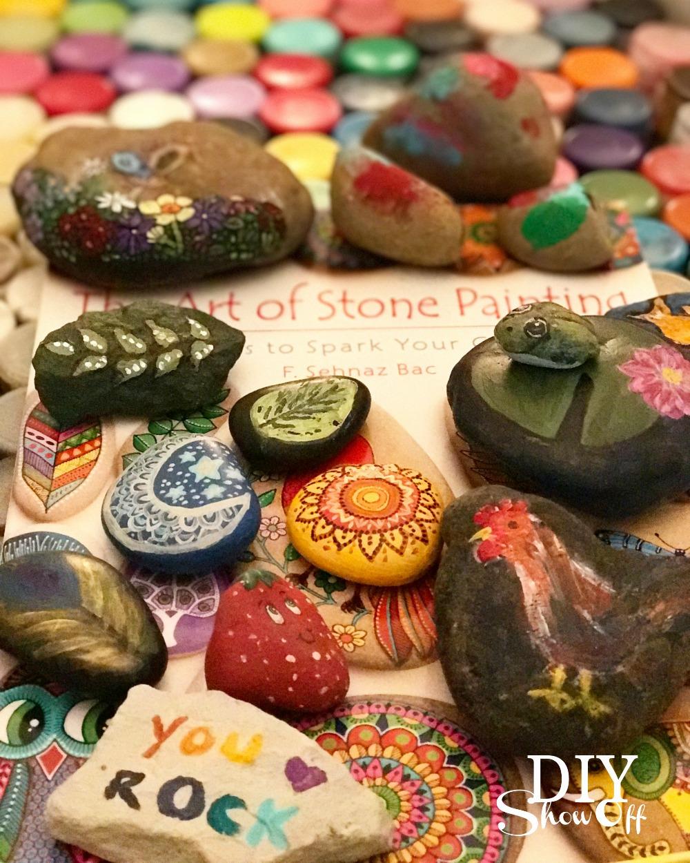 kindnessrocks painted rocks