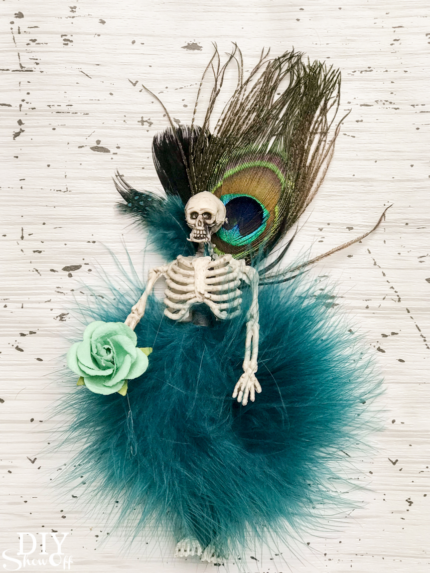 DIY Halloween Fairy Fashion Show - Skeleton Couture @diyshowoff