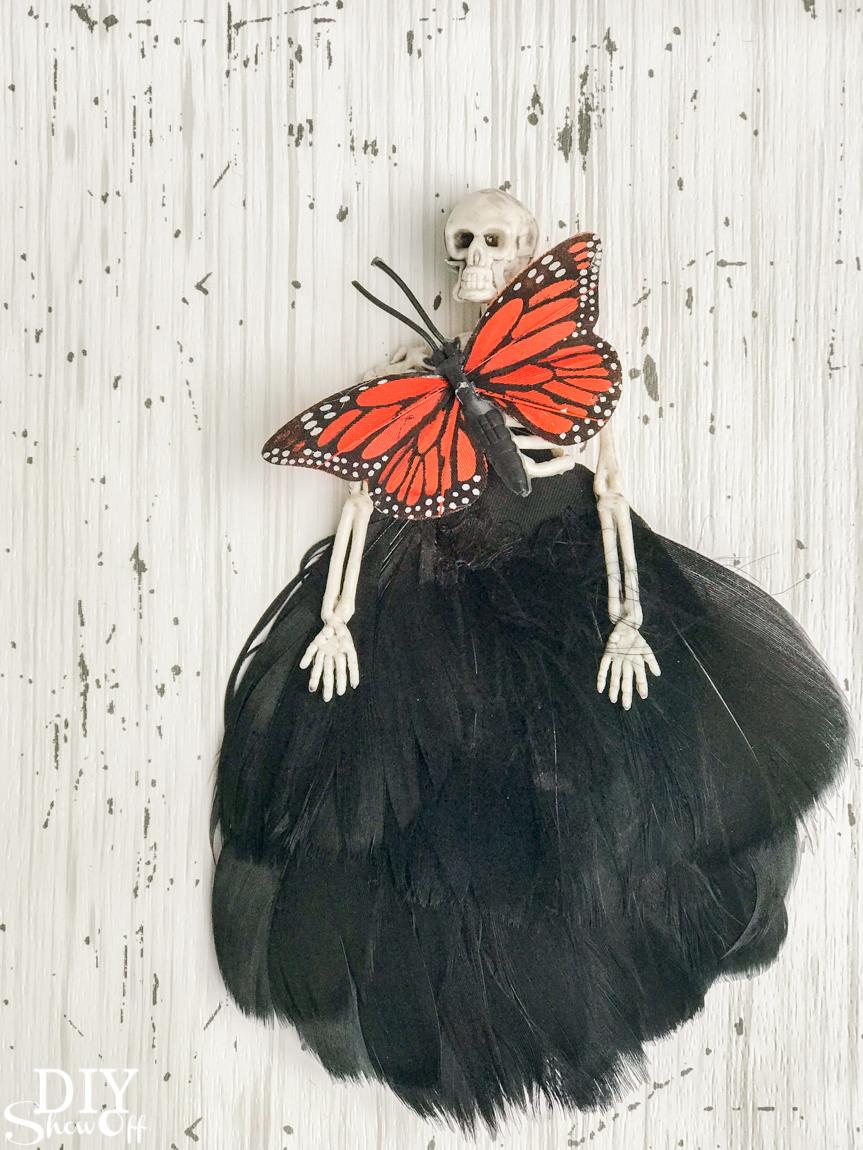 DIY Halloween Fairy Fashion Show - Skeleton Couture @diyshowoff