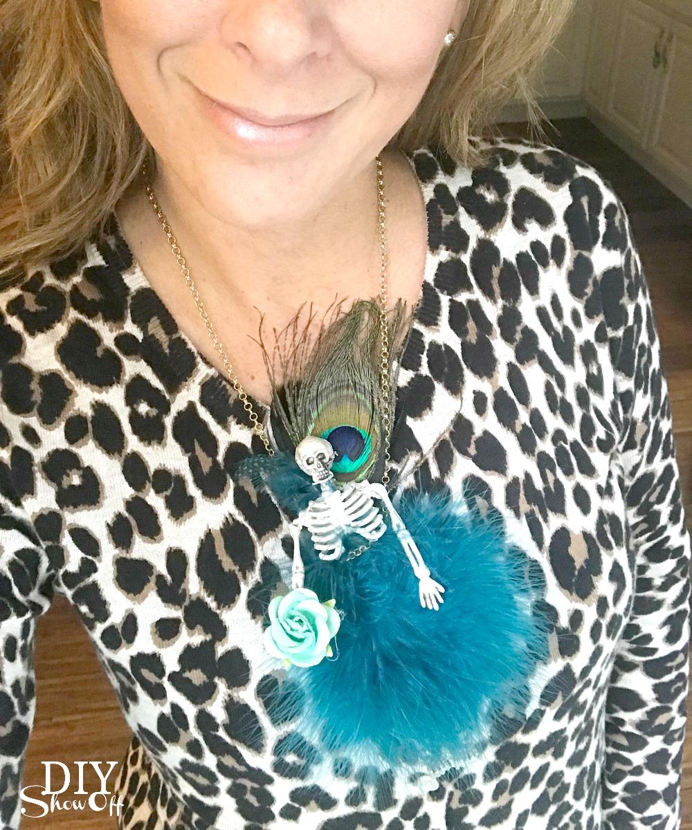DIY Halloween Fairy Fashion Inspired Skeleton Couture Tutorial