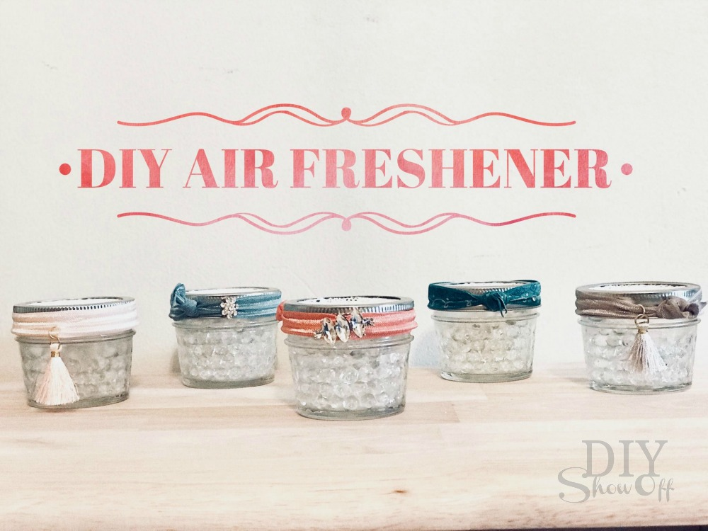 DIY essential oil infused air freshener gift idea
