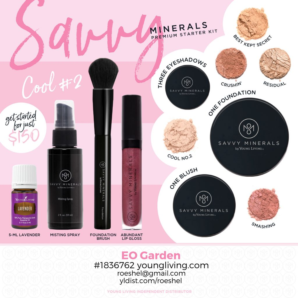Cool 2 Savvy Minerals chemical free makeup