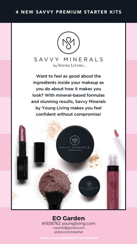 Savvy Minerals makeup