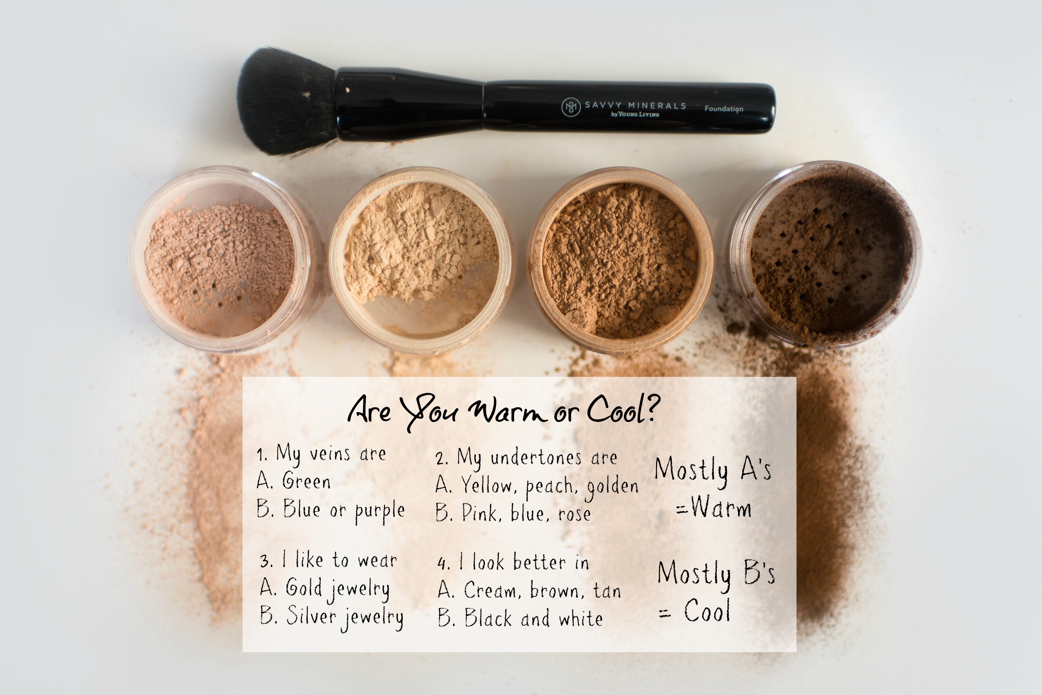 warm or cool makeup