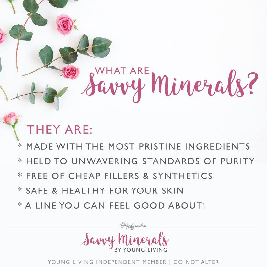 what are savvy minerals