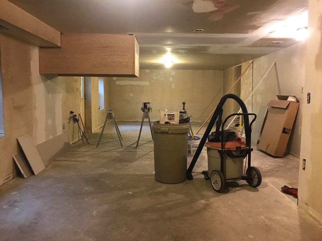 basement // mancave makeover #shawstyleboard