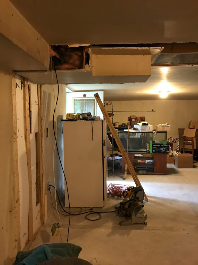 basement // mancave makeover