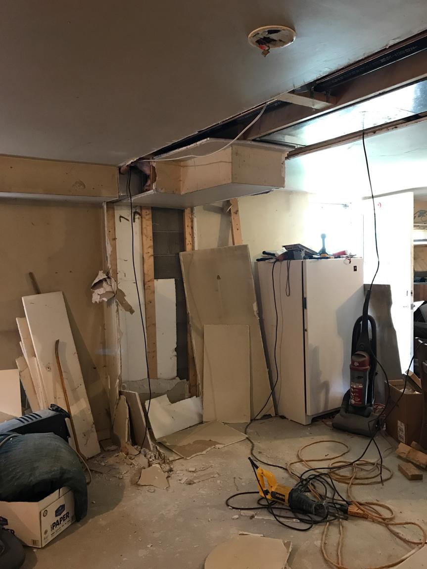basement // mancave makeover #shawstyleboard Shaw Maverick Leather