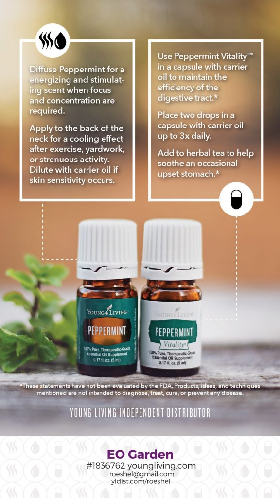 peppermint essential oil #diy