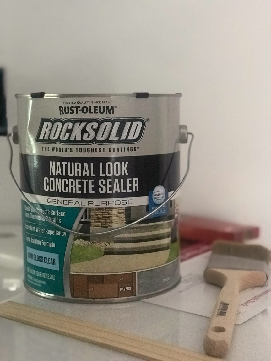 RustOleum Rock Solid Concrete Sealantj