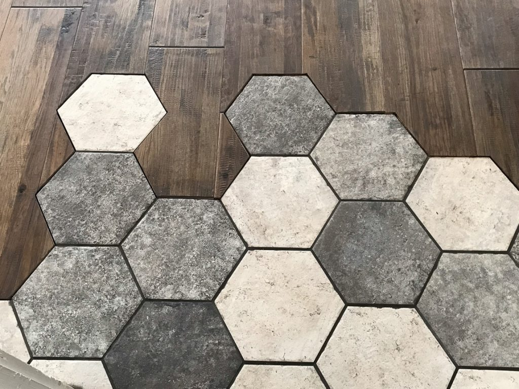 Shaw Monterrey Grandview hardwood San Francisco hexagon tile