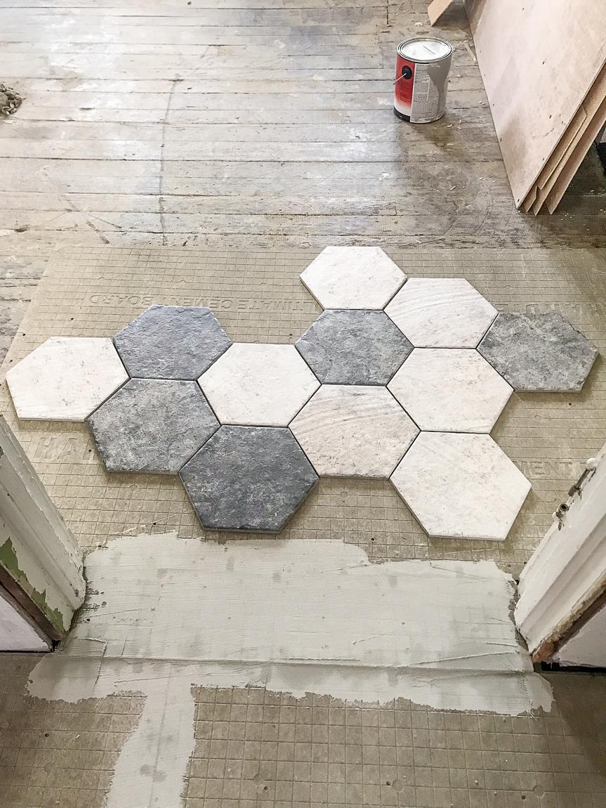 deciding tile placement