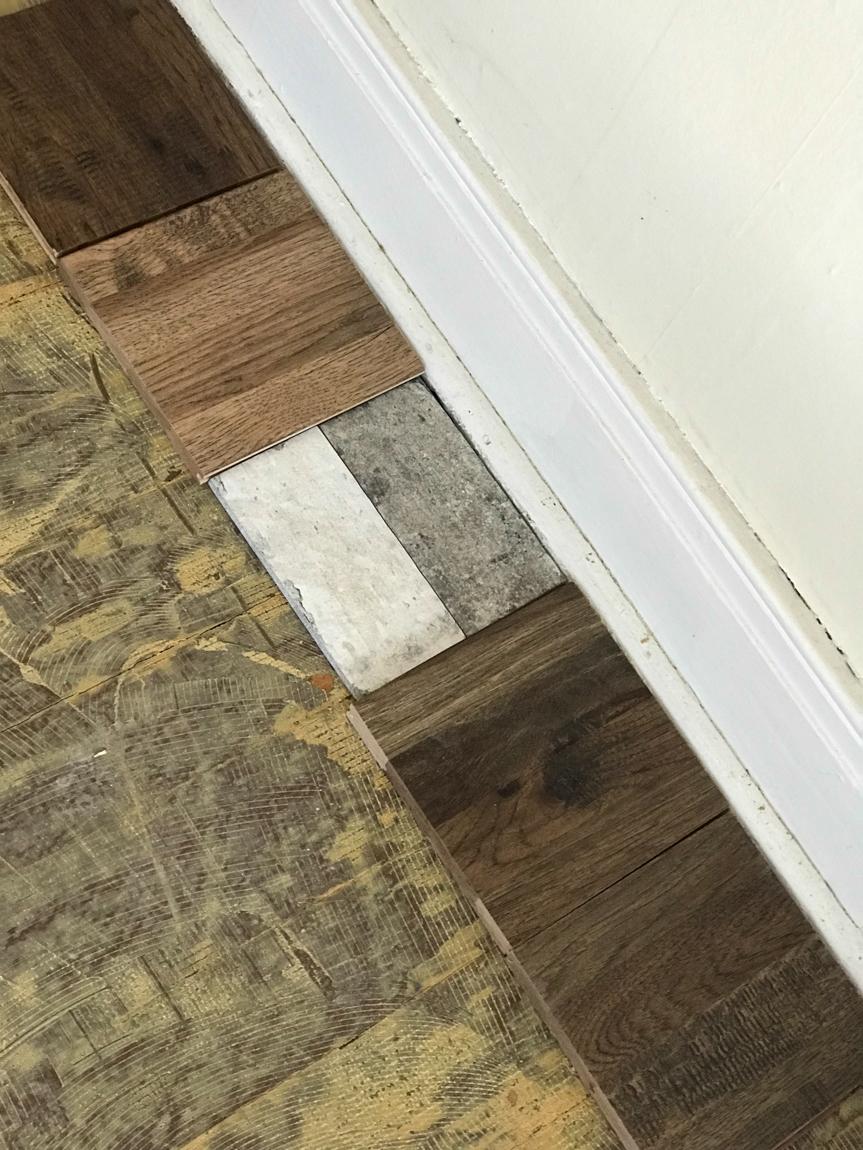 Shaw hardwood floor samples