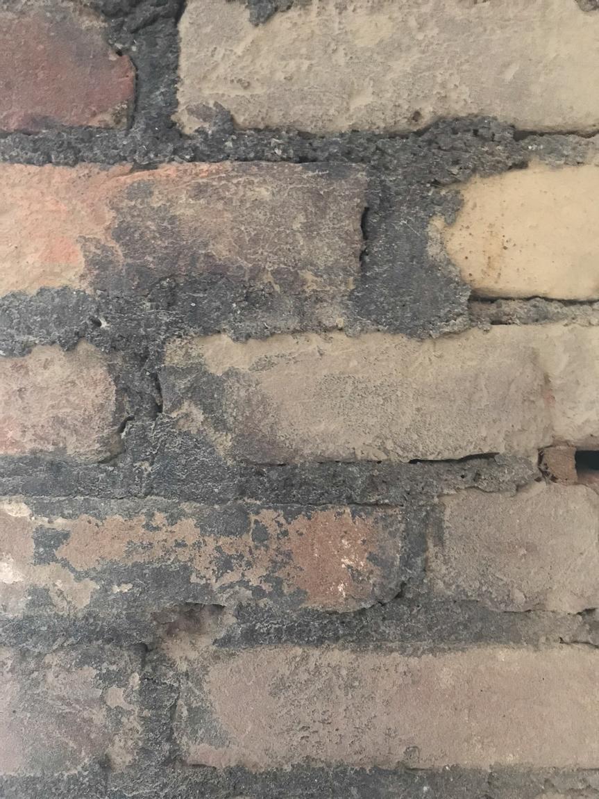 brick before