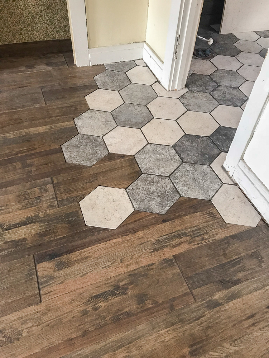 Image result for tile to hardwood transition