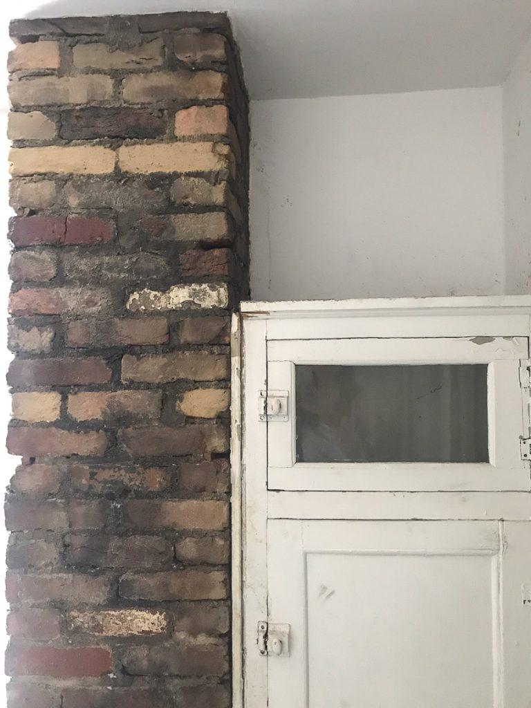 vintage brick