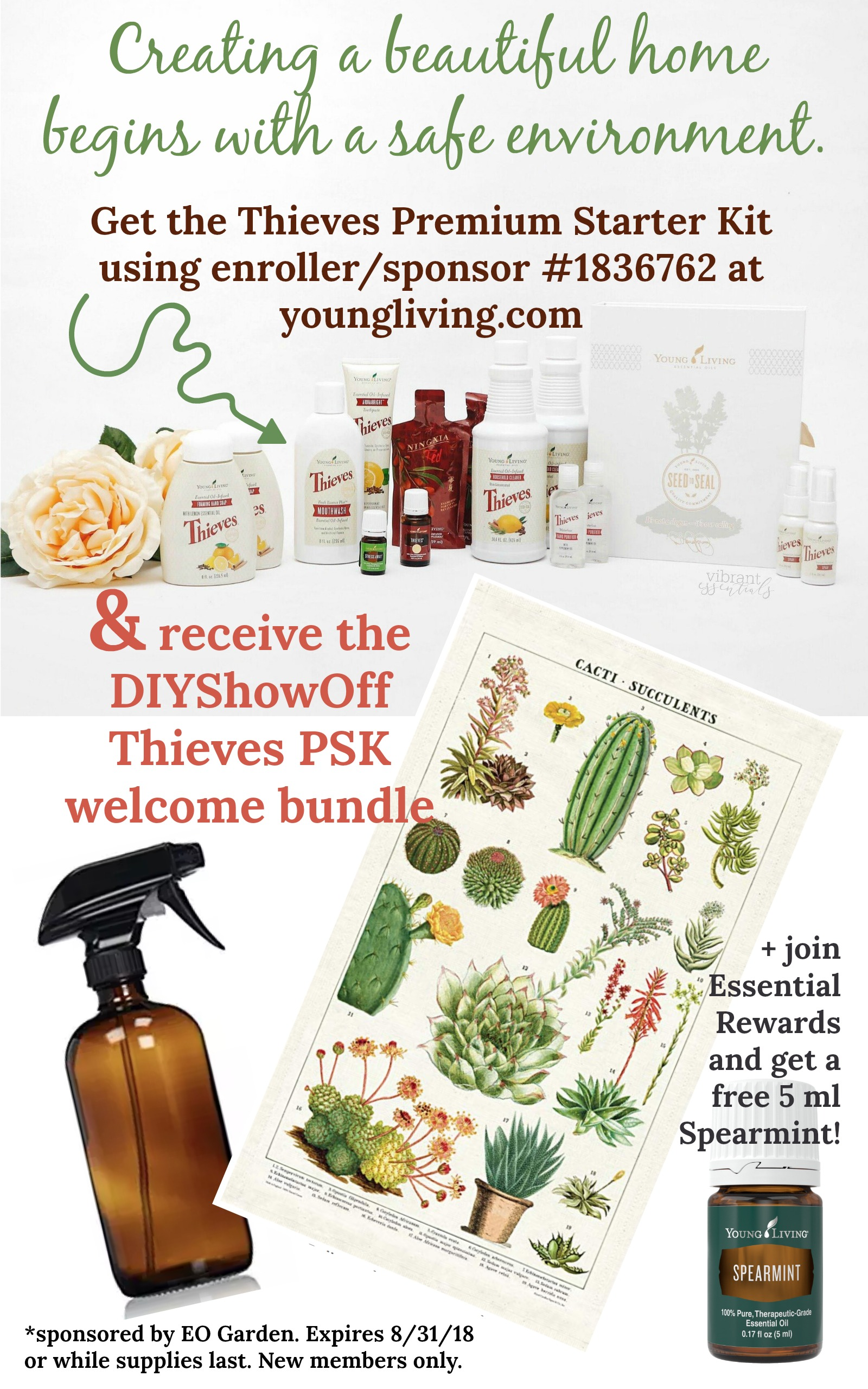 DIYShowOff Thieves Welcome Bundle August
