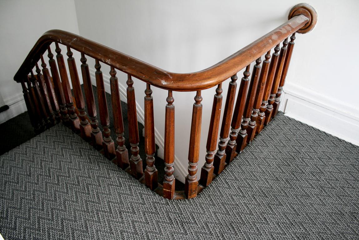 Shaw Carpets Final Piece Coatbridge stair landing railing