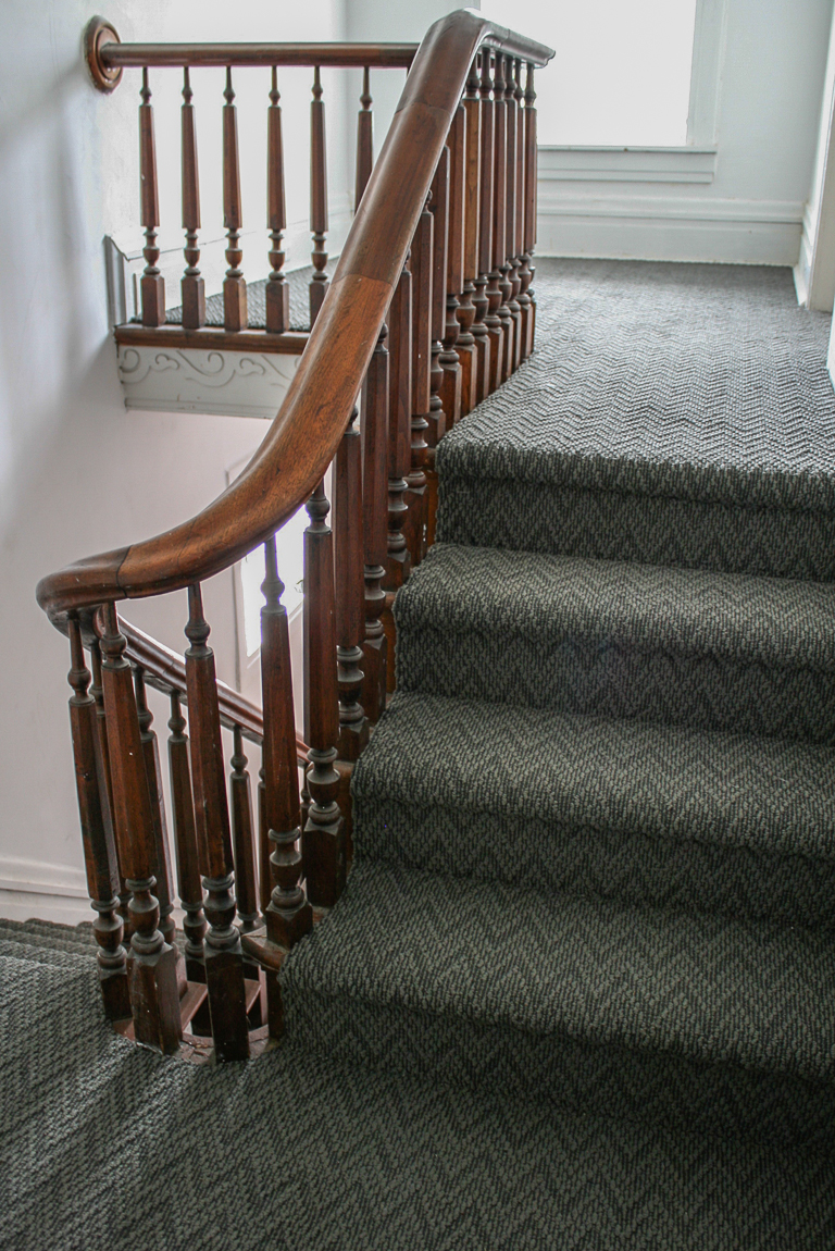 Shaw Carpets Final Piece Coatbridge staircase