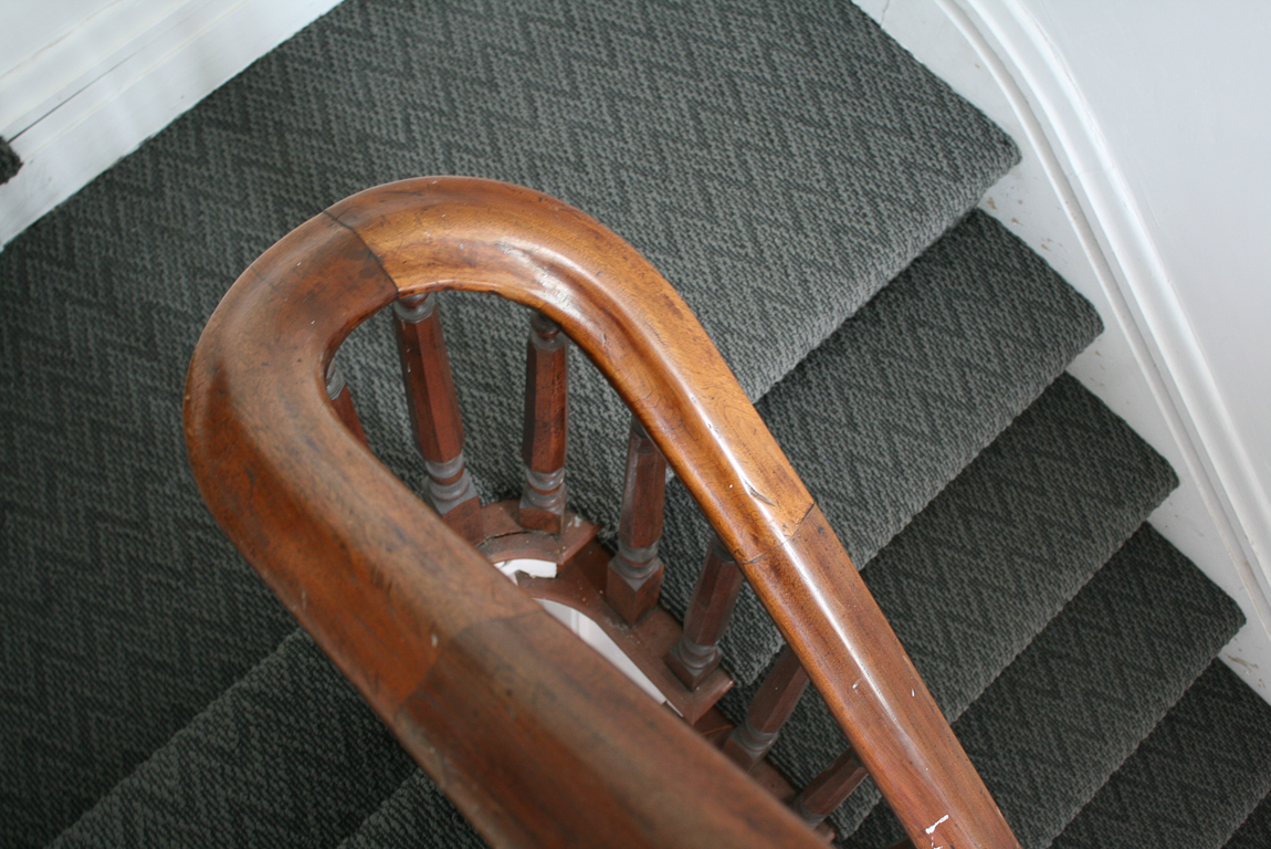 Shaw Carpets Final Piece Coatbridge stairs