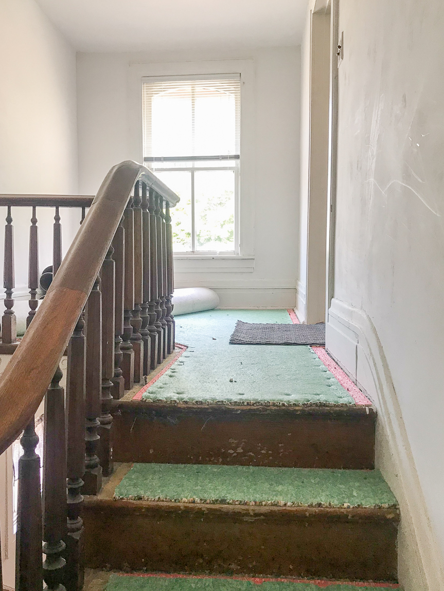 padding for carpet on stairs