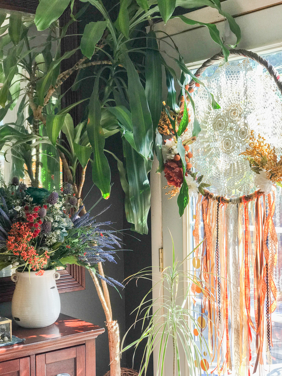 Boho Sunroom Makeover