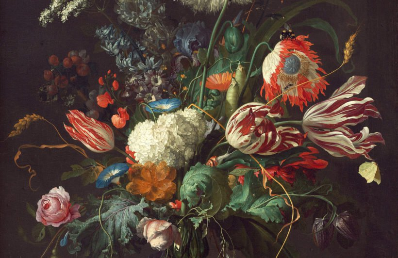 vase of flowers de heem