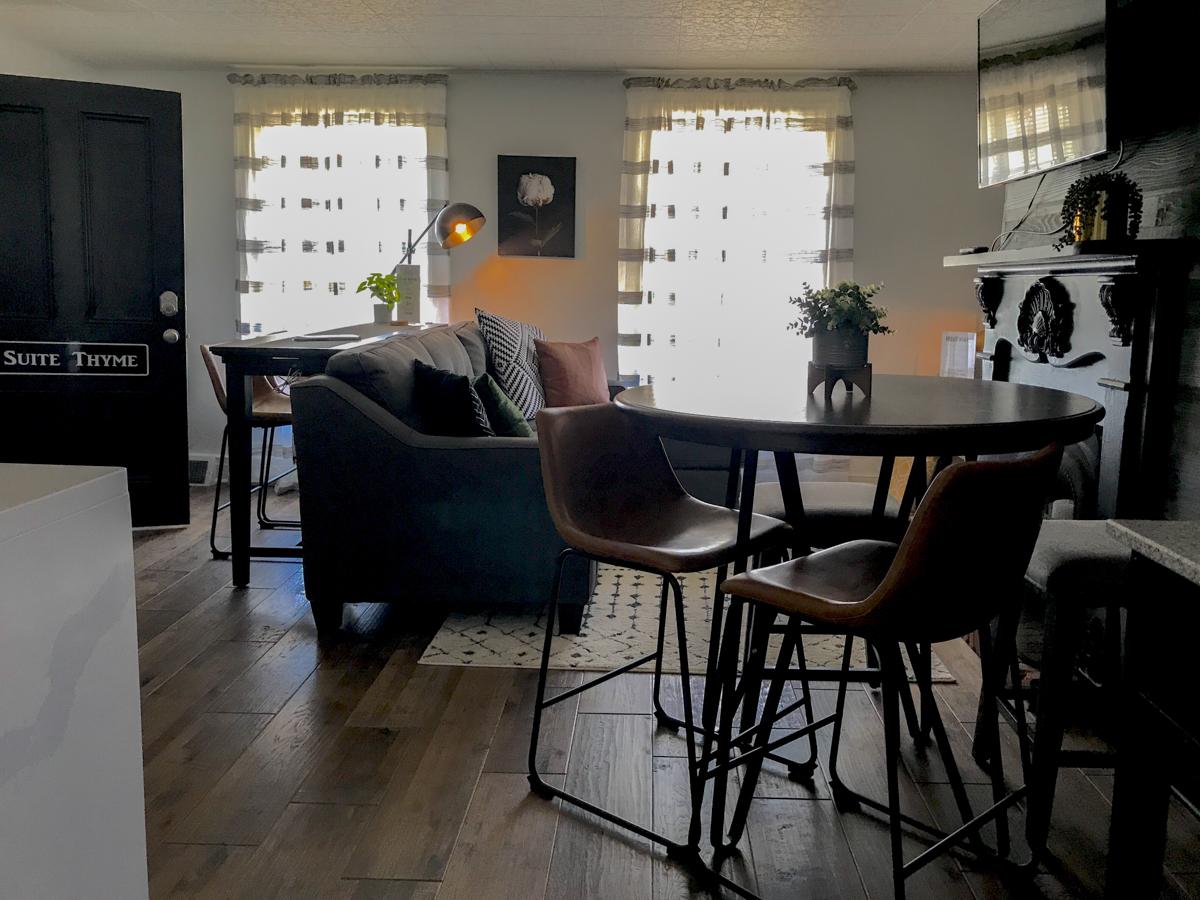 apartment dining nook