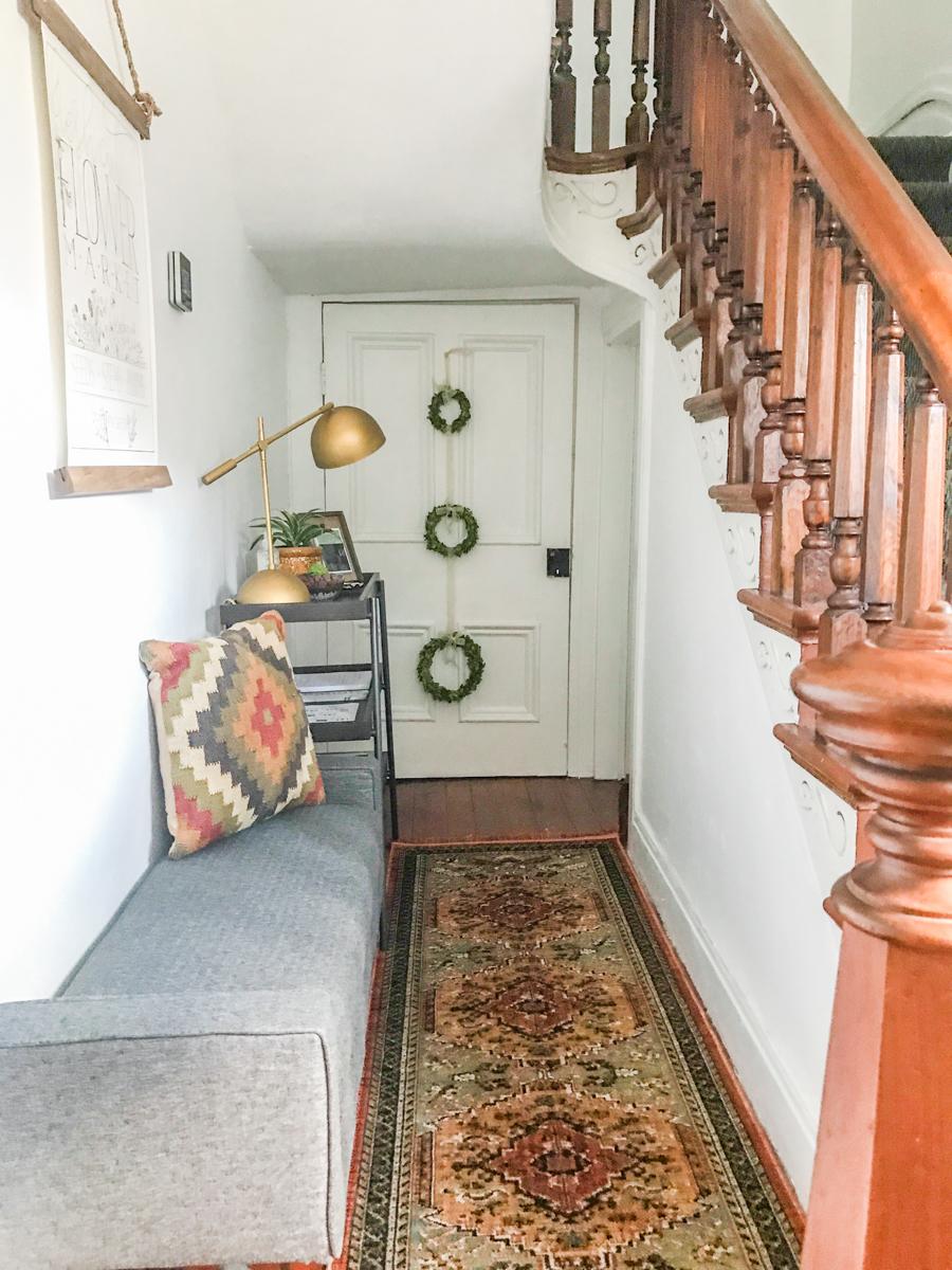 boho entryway