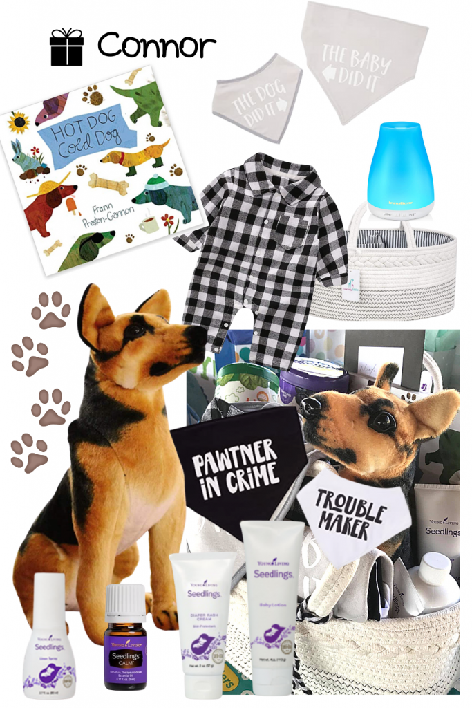 dog baby gift basket tips inspiration