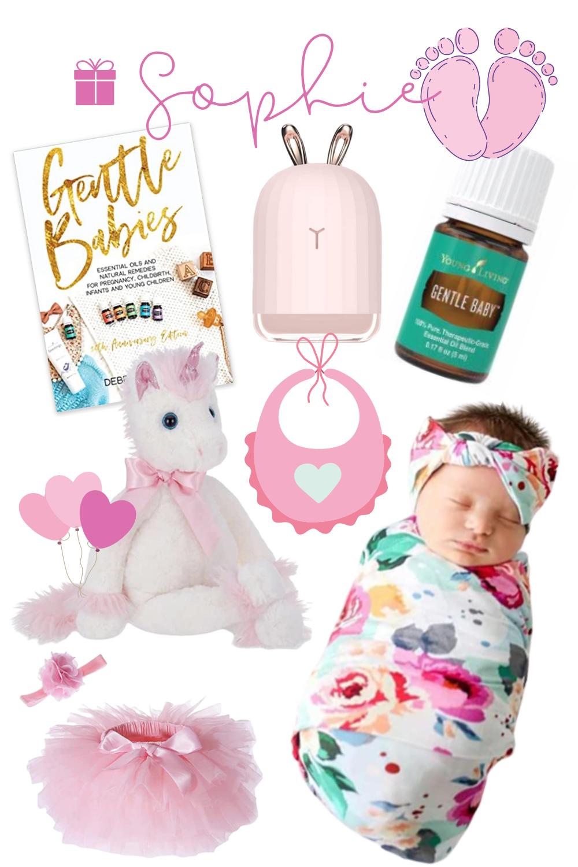 pink baby gift basket tips inspiration